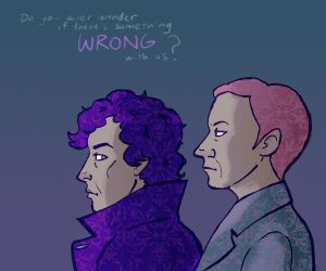 Something Wrong With Us - Sherlock by taconaco