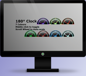 180 Clock 1.0 by OsricWuscfrea