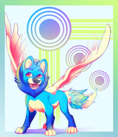 Wings into Blue by Kuitsuku