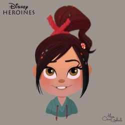 Vanellope by MarioOscarGabriele