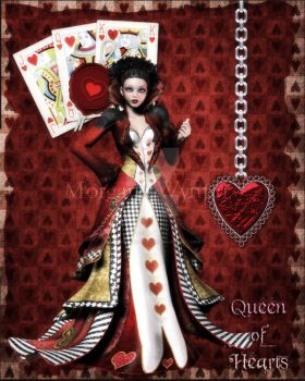 +Queen of Hearts+ by MahymdeNocturne