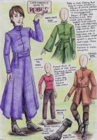 Lord Dannyl's Guide to Robes by Perhone