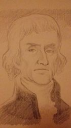 Sketchtember 19: The real Jefferson this time by Bomberhead67