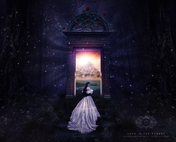 Gate In The Forest by Abyss-of-Crazy