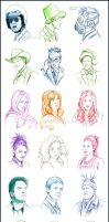 TARDIS travellers by Cataclysm-X
