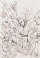 Saitama one punch man by nic011