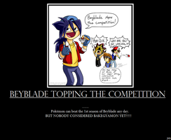 Beyblade topping the competition? by KairaHakura