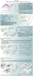 How I draw Comic Wings by Lizkay