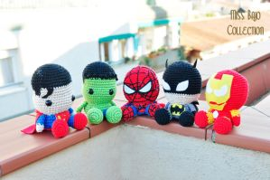 The Avengers by MissBajoCollection