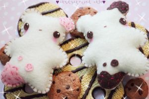 sweet cookie bears by CandyStripedCafe