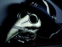 Plague Doctor Mask by Opergeist