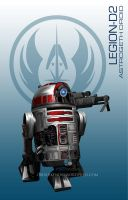 Star Wars Mass Effect Crossover Legion D2 by rs2studios
