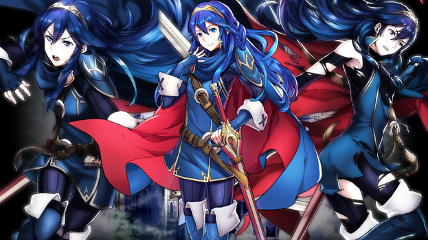 Fire Emblem Heroes - Lucina Wallpaper by AuroraMaster