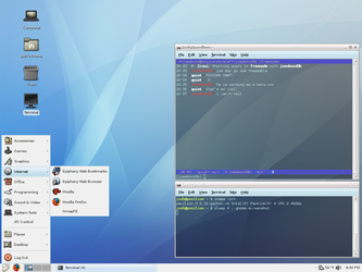 Gentoo 2006.0 - 10 hours old. by UnixPunx83