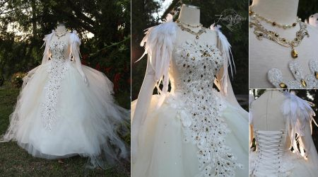 Swan Lake Ball Gown by Firefly-Path