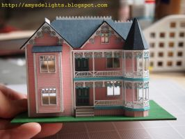 1and144 Scale Dollhouse by craftersdelights