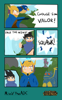 LoL contest FACE THE WIND VALOR! by MissVTheLoser