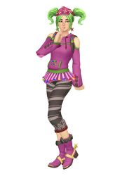 [MMD] Fortnite - Candy Girl Zoey by arisumatio