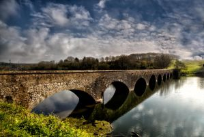 Eight arch Bridge by CharmingPhotography