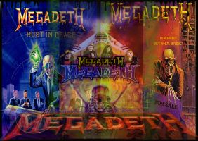 Megadeth by luckyvirgin