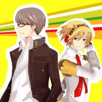 Persona 4 Ultimate by i-c-21
