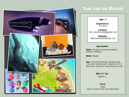 Tom van de Merbel - Game Artist by merbel
