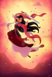 Mulan - 20th Anniversary by DylanBonner