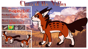Clans of the Valley: Rabbitbite by IlvermornyMage