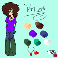 Vincent :REF: by Bonnieart04