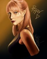 Pepper Potts by SilkSpectreII