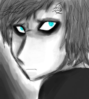 My version of Gaara by Little-L-Naruto