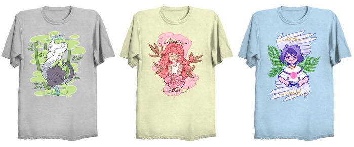 Dove's World Shirts by ClefdeSoll