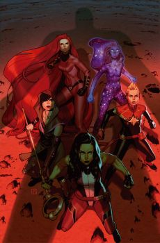A-Force #4 Cover by ZurdoM