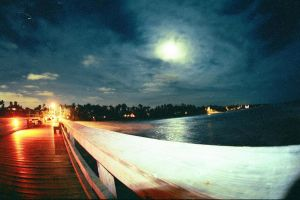 Moonlight on a Naples Pier by ForzaGiallorossi