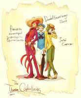 The Three Caballeros by chacckco