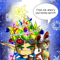 Jak and Daxter: Tis the Season by soohong