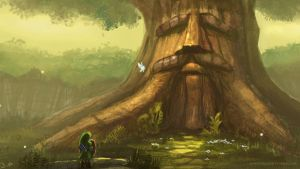 Legend of Zelda : Deku Tree by Minionslayer