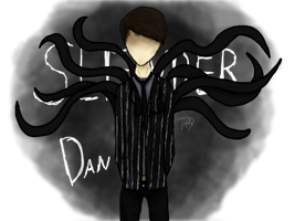SlenderDan! (Danisnotonfire/Slender Fan Art) by tiffytekkno