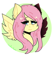 fluttershy by pastel--milk
