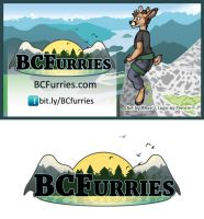 [V] BCFurries Logo 2016 + Card by Temrin