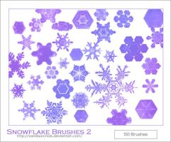 Snowflake Brushes 2 by VanillaOrchids