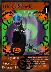 NecroMasters TCG - TRT - 001 - Trickr' Spook (New) by PlayboyVampire