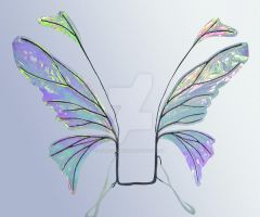 Retired Iridescent Wings by FaeryAzarelle
