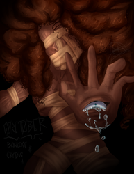 Goretober Day 11 and 12: Crying  and  Bandage by JDGaming2001