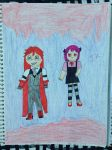 Grell And Lucy by SadnessFemBoy2016