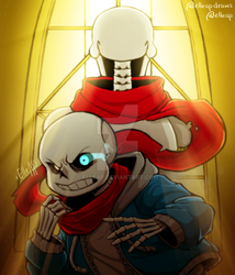 The Scarf [Undertale] by elleap