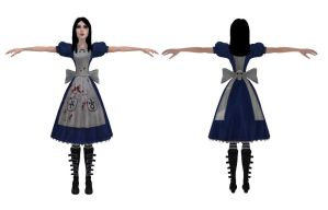 MMD Alice DL by 0-0-Alice-0-0