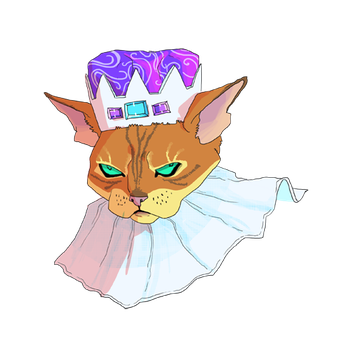 Royal Cat by repoghost