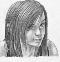 Tifa - Final Fantasy by TheSketchist53