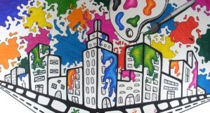 A Sharpie Lover's City by dreamindixiie